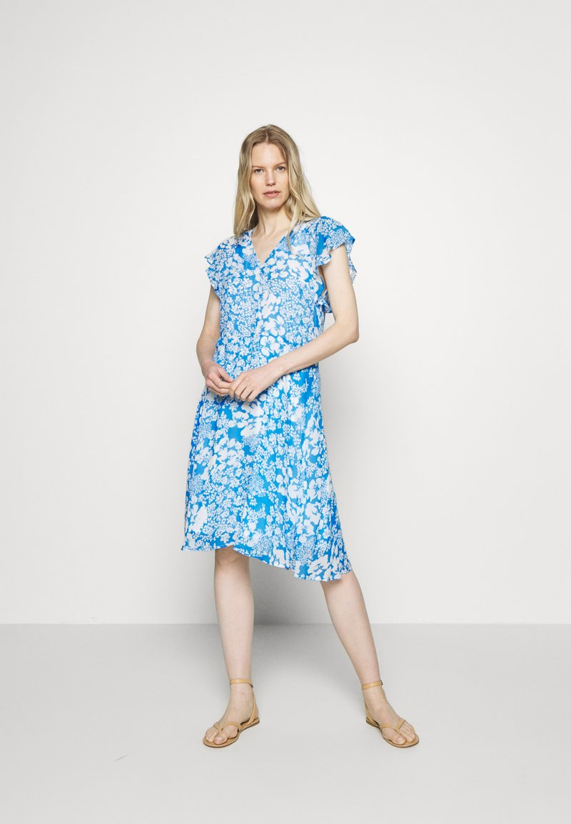 InWear - FLORIZZAI SHORT DRESS - Denní šaty - light blue
