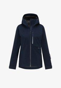 PYUA - Waterproof jacket - navy blue - 4