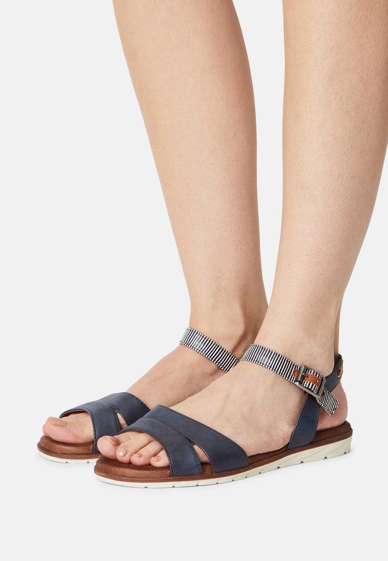Tamaris - Sandals - navy comb