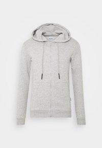 ONSCERES LIFE ZIP HOODIE  - Bluza rozpinana - light grey