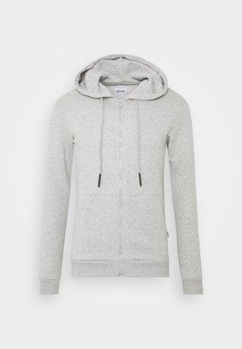 ONSCERES LIFE ZIP HOODIE - Mikina na zip - light grey
