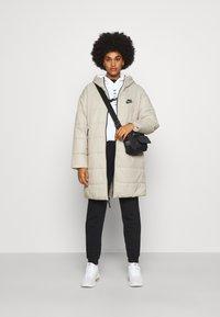 Nike Sportswear - CORE - Zimní kabát - stone/white - 1