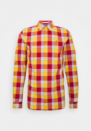 ESSENTIAL CHECK  - Shirt - wine red/multi