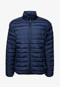 Only & Sons - ONSGEORGE QUILTED HIGHNECK - Chaqueta de entretiempo - dress blues - 5