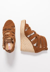 s.Oliver - High heeled sandals - cognac - 3