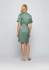 BOSS - DASHILA - Abito a camicia - light green - 2