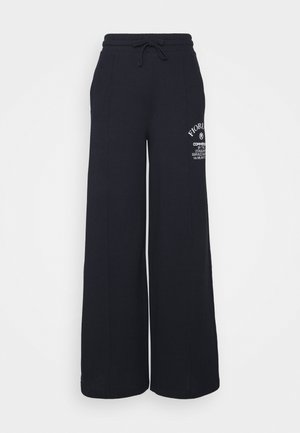 COMMENDED WIDE LEGGED TRACKPANTS - Trainingsbroek - blue