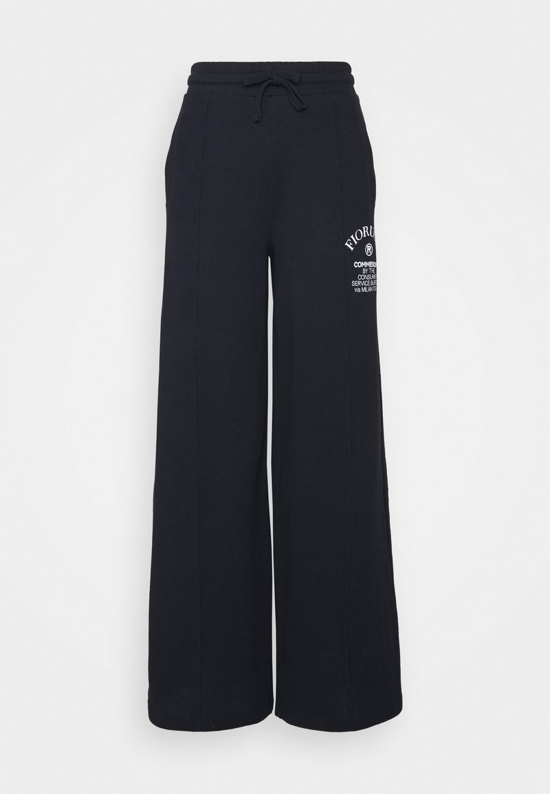 Fiorucci - COMMENDED WIDE LEGGED TRACKPANTS - Tracksuit bottoms - blue