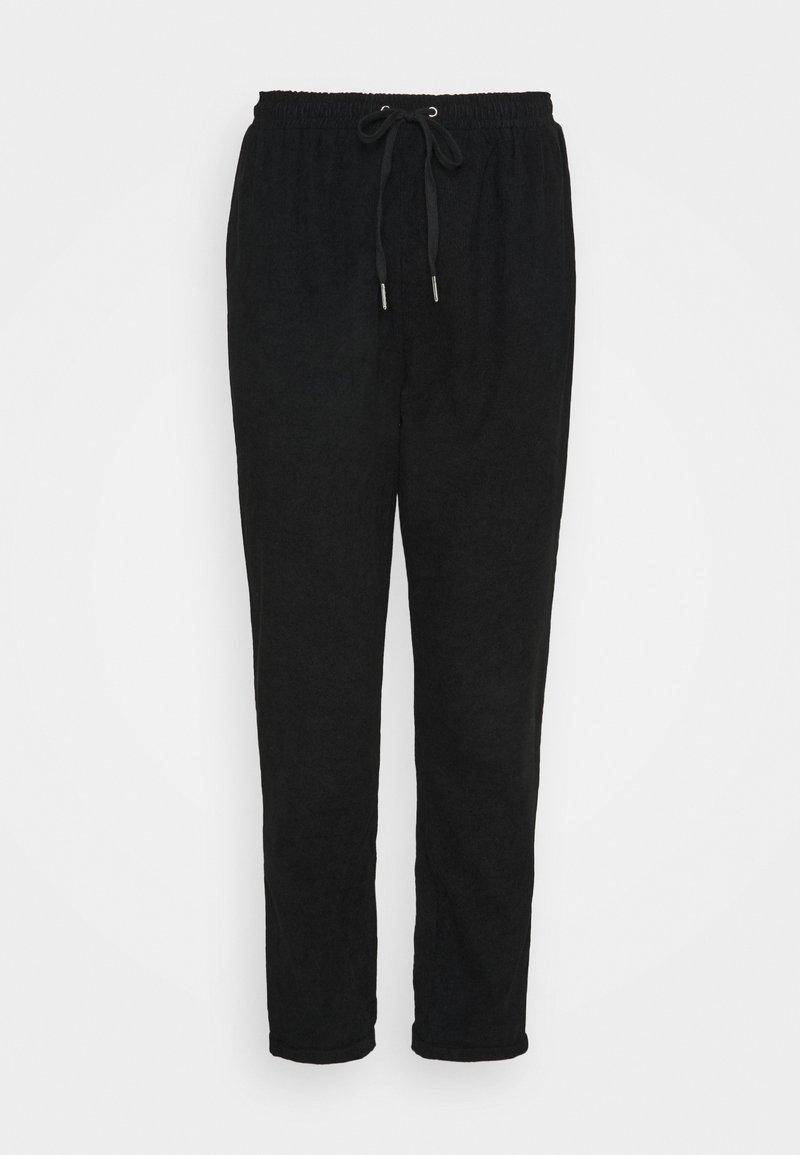 Missguided Plus - MINI JOGGER - Tracksuit bottoms - black
