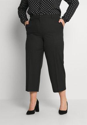 SLFRYLEEO CROPPED PANT  - Trousers - black