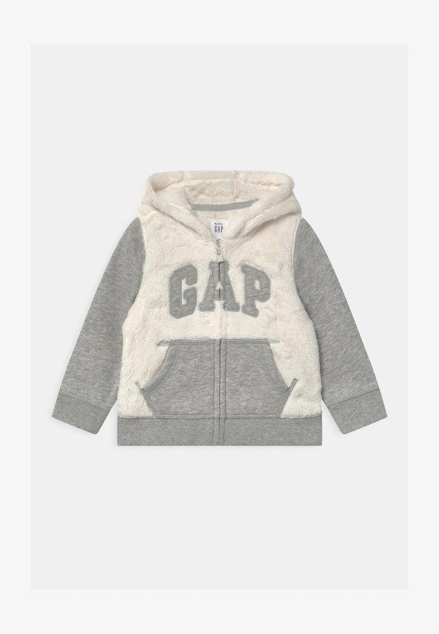 COZY GARCH  - veste en sweat zippée - ivory frost