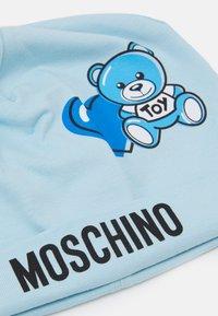 MOSCHINO - ADDITION UNISEX - Čepice - sky blue - 2