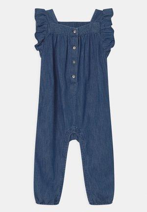 Jumpsuit - blue denim