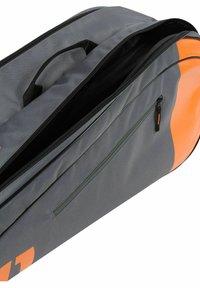 Wilson - Racket bag - grau orange - 4