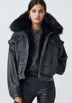 ARAL - Denim jacket - schwarz