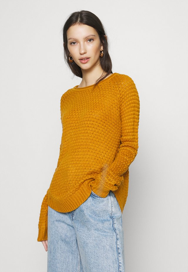 VMESME SURF O NECK - Neule - buckthorn brown