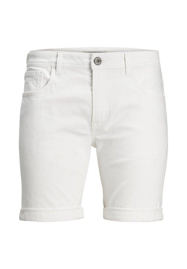 Jeans Short / cowboy shorts - white denim