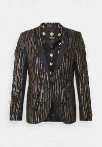Twisted Tailor - SAGRADA SUIT - Garnitur - black/gold - 1