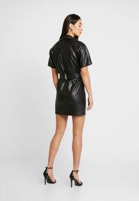 Ivyrevel - BELTED DRESS - Day dress - black - 3