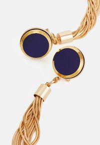 Anton Heunis - DISC WITH TASSEL - Earrings - blue/gold-coloured - 2