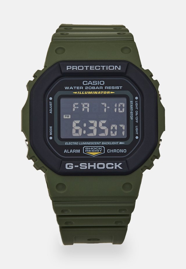 LAYERED BEZEL - Digital watch - green