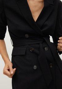 Mango - BLAKE - Short coat - schwarz - 3
