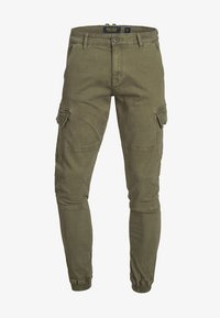 INDICODE JEANS - AUGUST - Cargohose - army - 5