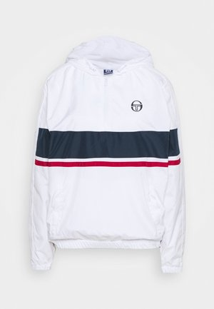 CABIX JACKET - Veste de survêtement - white/navy