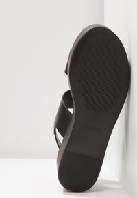 ALDO - AGRERINIA - Platform sandals - black - 6