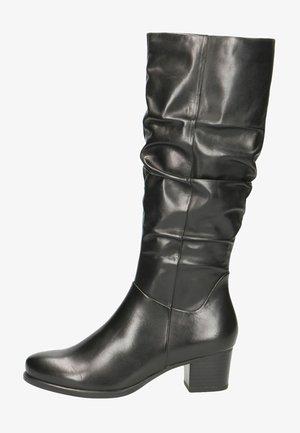 Vysoká obuv - black nappa