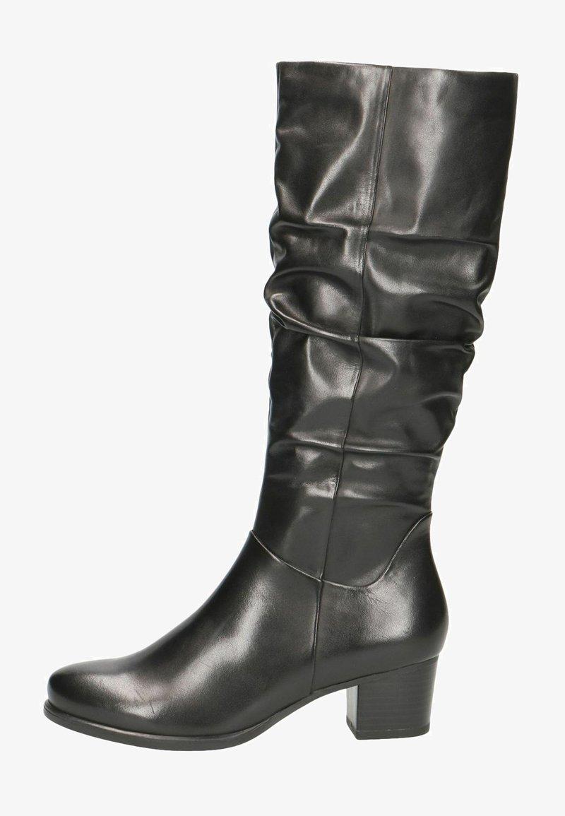 Caprice - Vysoká obuv - black nappa