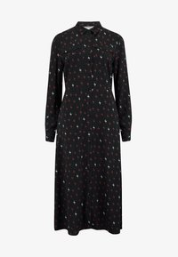 Sugarhill Brighton - SHIRT SERENA AUTUMN STORM - Shirt dress - black - 4