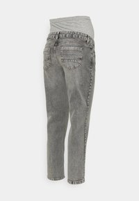 MAMALICIOUS - TOWN CROPPED COMFY - Slim fit jeans - light grey denim - 1