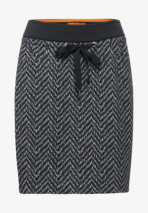 MIT DESSIN - Pencil skirt - grau