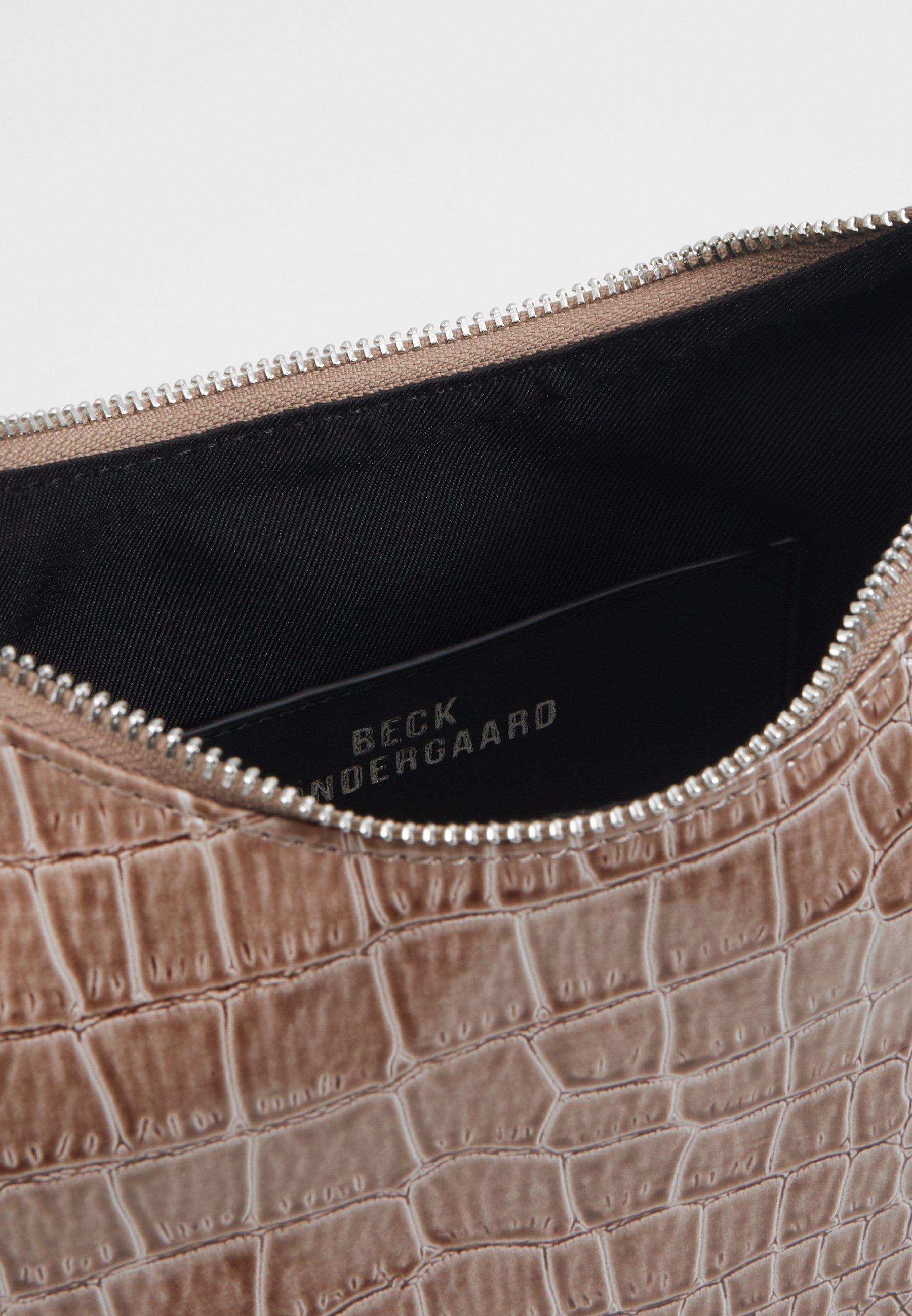 Becksöndergaard SOLID PRADISA BAG - Håndveske - grey/grå 0A7UpD4bEB0ku0v