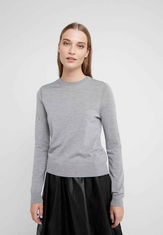 Sweter - grey heather melange