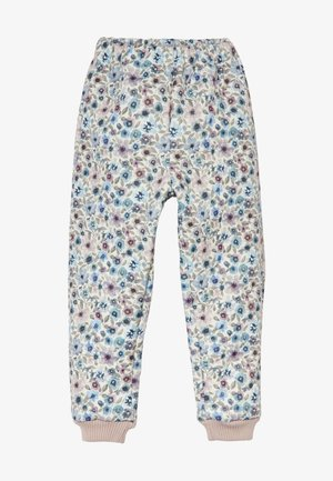 THERMO ALEX - Trousers - eggshell/watercolor
