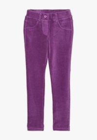 Benetton - TROUSERS - Pantaloni - purple - 0