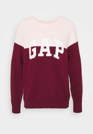 V-GAP ARCH - Jumper - burgundy