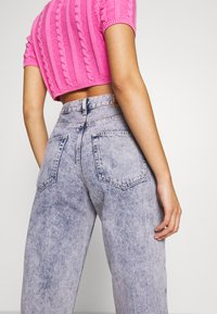 Pepe Jeans - DUA LIPA X PEPE JEANS - Jeansy Relaxed Fit - moon washed - 3