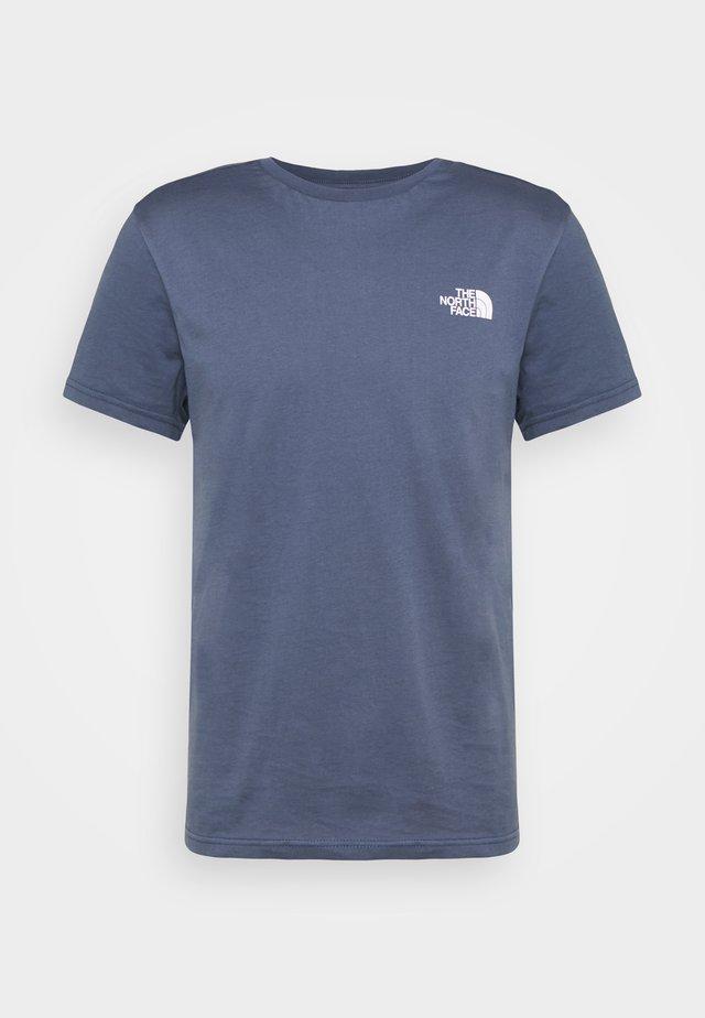 MENS SIMPLE DOME TEE - T-shirt basique - vintage indigo