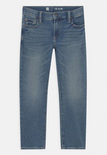 BOYS SOFT  - Straight leg jeans - blue denim