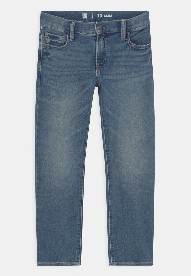 GAP - BOYS SOFT  - Straight leg jeans - blue denim