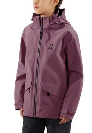 MILA - Waterproof jacket - purple milk