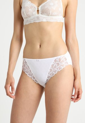 JACQUELINE BRIEF - Slip - white