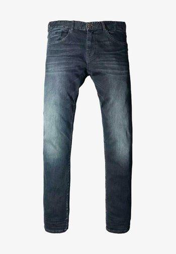 Slim fit jeans - blue-black denim