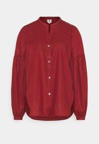 BLOUSE - Košile - red dark