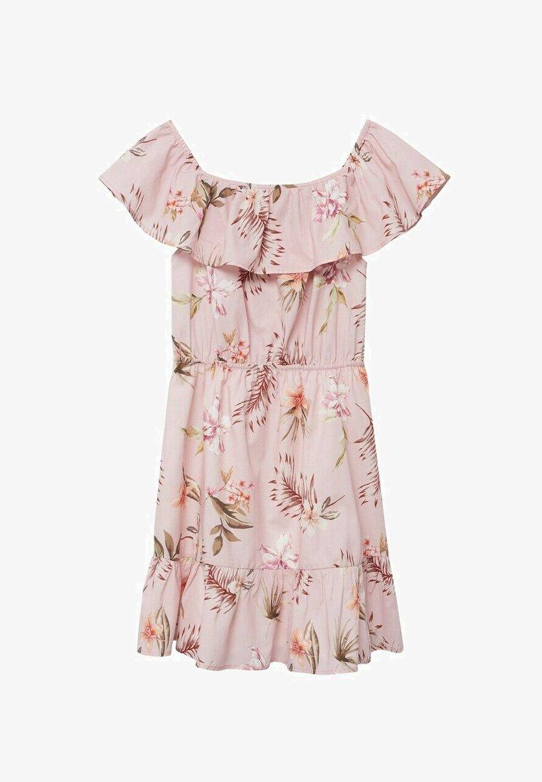 Mango - Day dress - rose clair