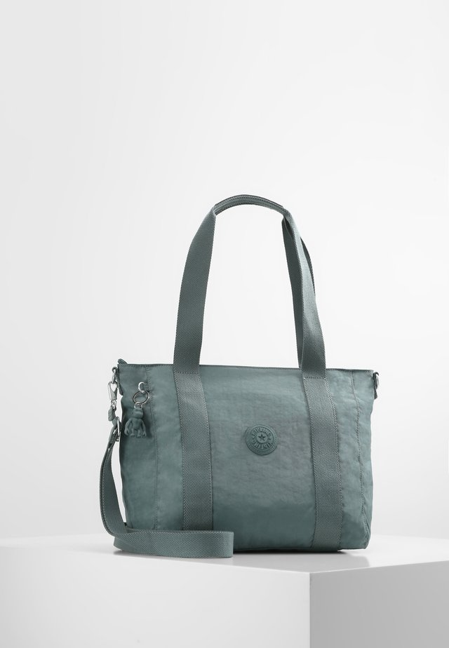 ASSENI S - Tote bag - light aloe