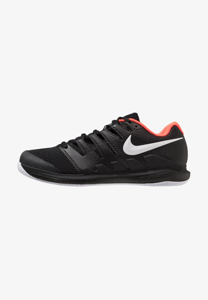 Nike Performance - AIR ZOOM VAPOR X - All court tennisskor - black/white/bright crimson